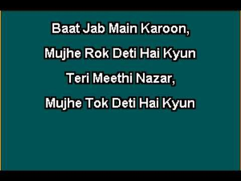 Phoolon Ke Rang Se - Kishore Kumar Hindi Full Karaoke with Lyrics