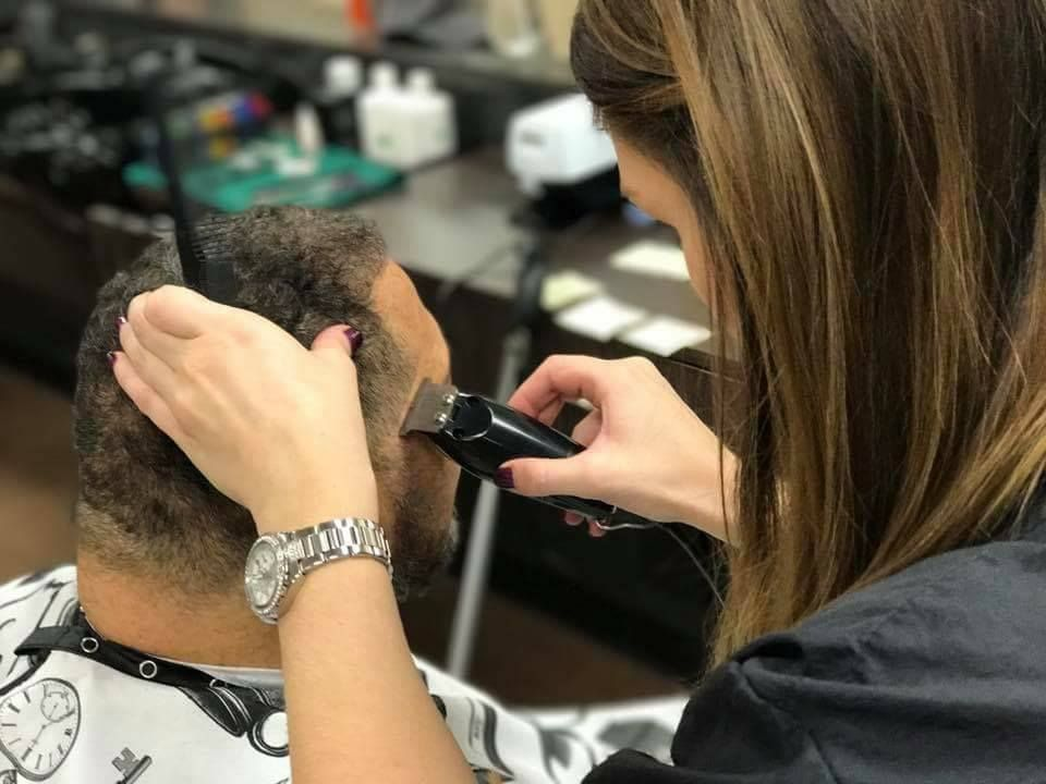 Our stylist Ashley is getting closer to completing her
