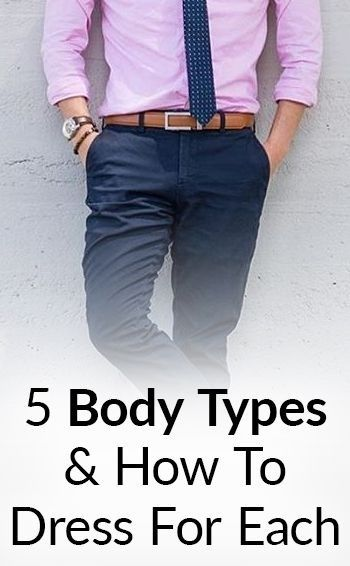5 Body Types How To Dress For Each Men Style Guide Ootd