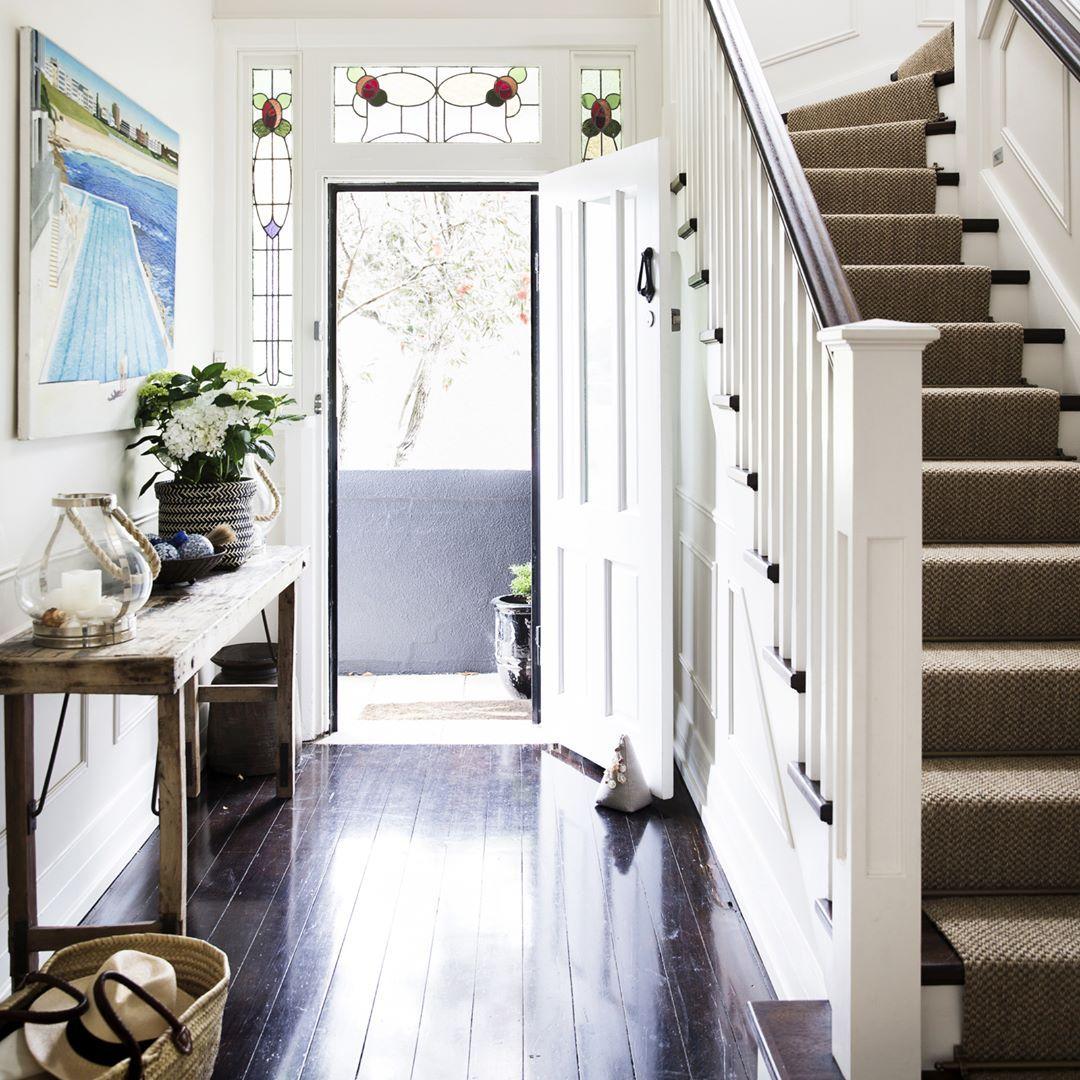 Edwardian hallway lighting   Likes  Comments  Home Beautiful homebeautiful on
