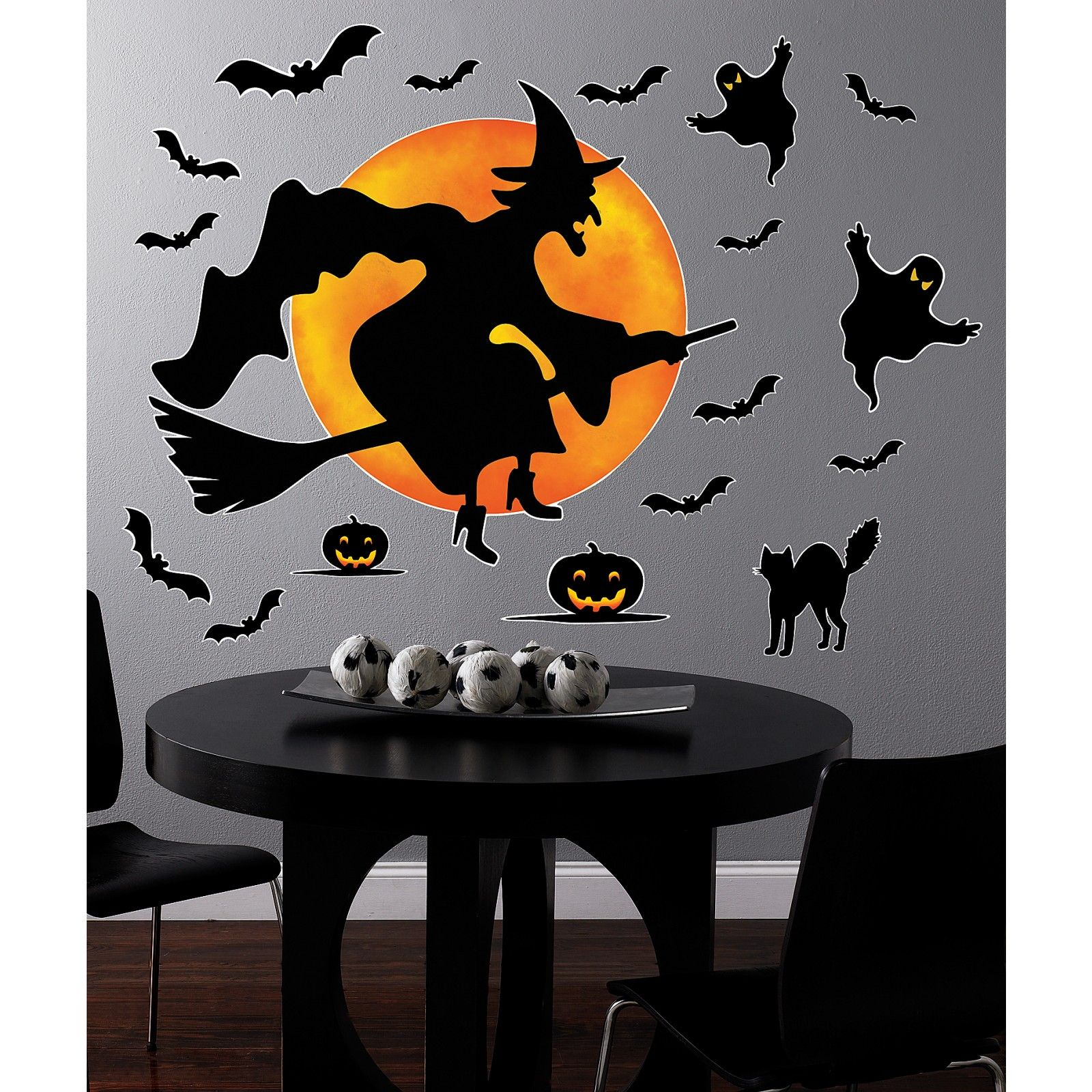 Witch Decorating Halloween Witch Giant Wall Decals Halloween Stuff Pinterest