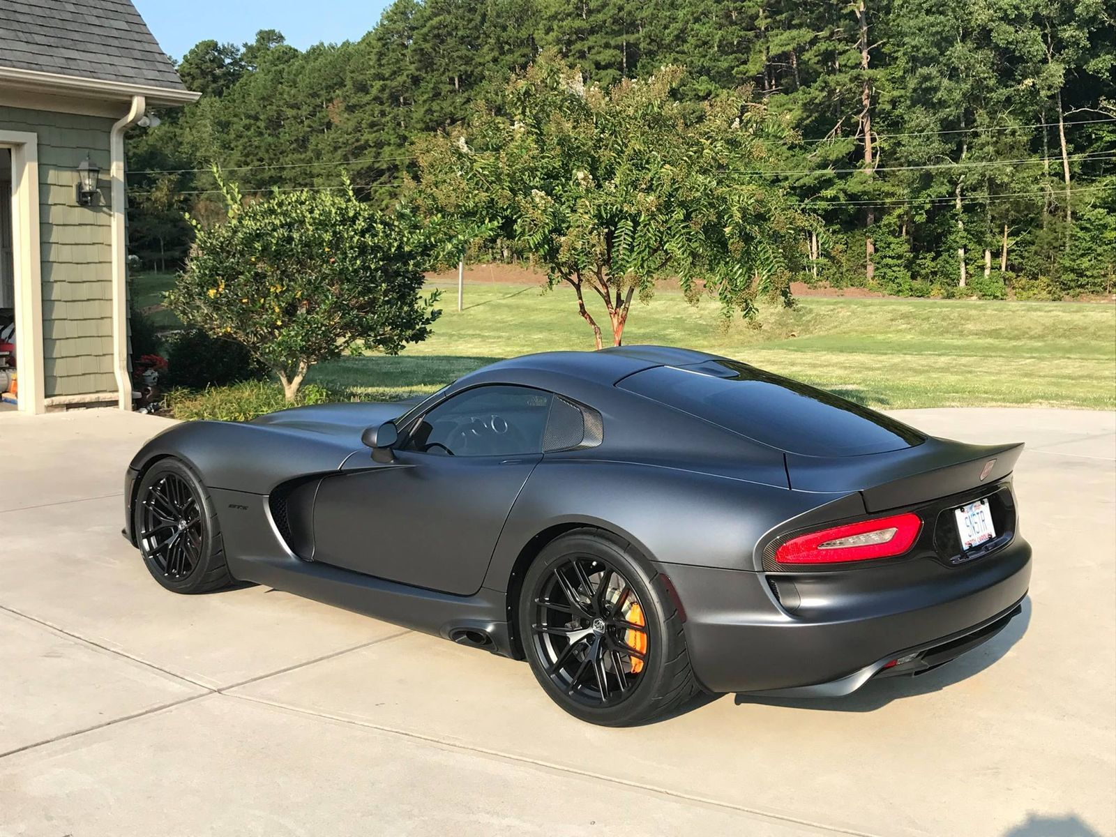 2017 Dodge Viper Ron S Gen 5 Srt On Forgeline One Piece Forged Molock Vx1 6 Wheels