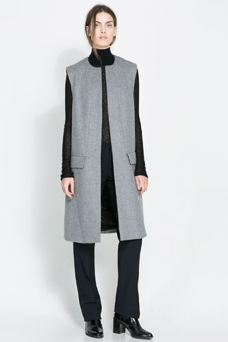Long Vest How To Wear Sleeveless Coats In 2019