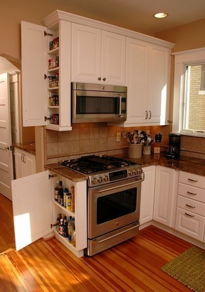A kitchen pantry cabinet is often high on the list of essentials when homeowners remodel their kitchen. Here are seven great design ideas.