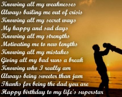 Heart Touching 77 Happy Birthday Dad Quotes From Daughter Son