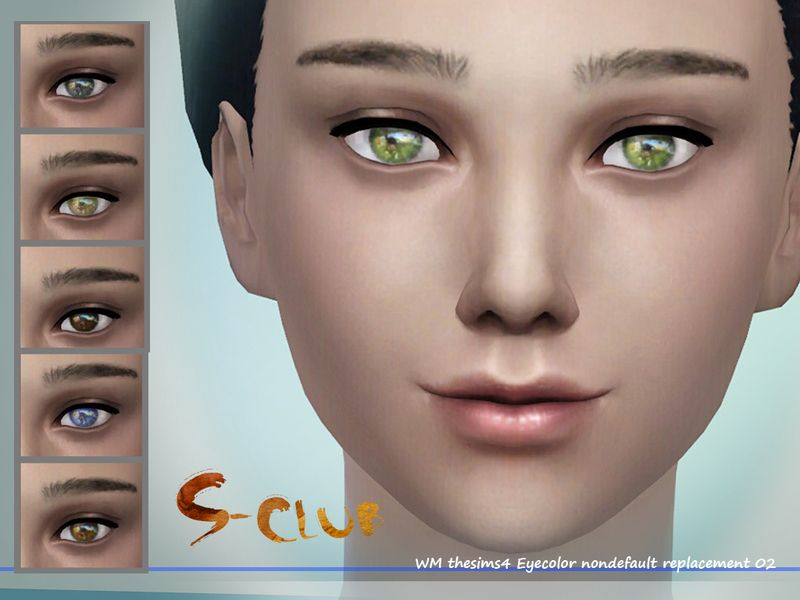 S-Club WM thesims4 eyecolor 02 Sims 4 custom content