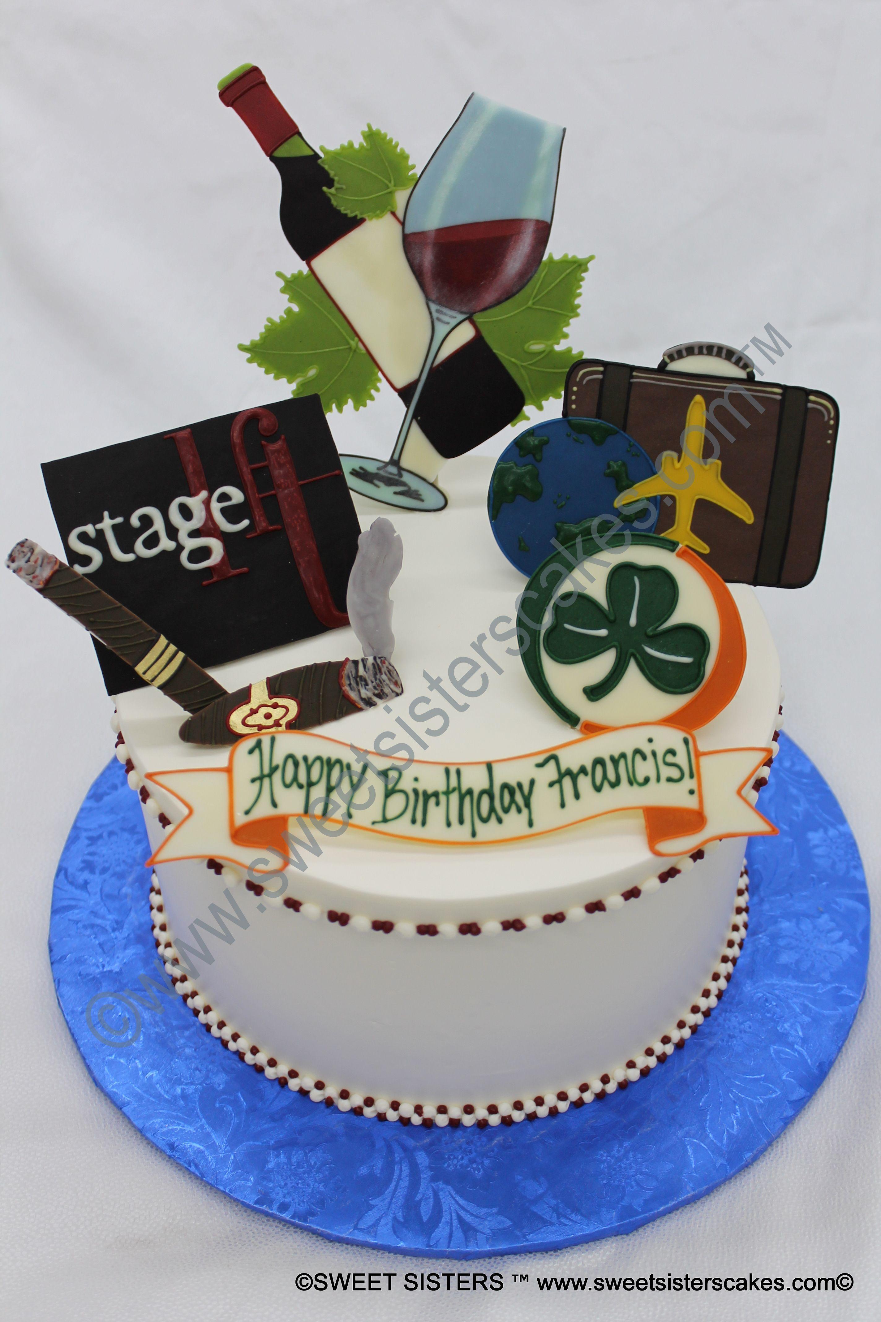For Your Favorite Wine Drinker Desserts Cakes Glass Birthday Birthdaycake SweetSisters