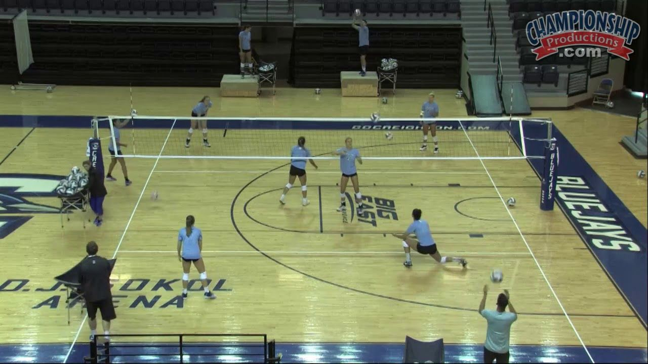 Dive Balls And Bombers Practice For Volleyball Coach Of The Year Volleyball Diving