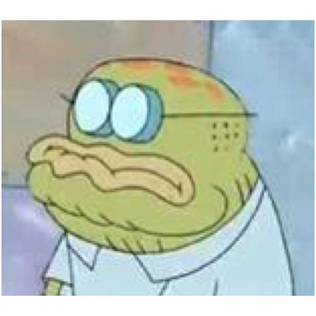 This Is Old Man Jenkins From Spongebob The Old Guy Who Calls