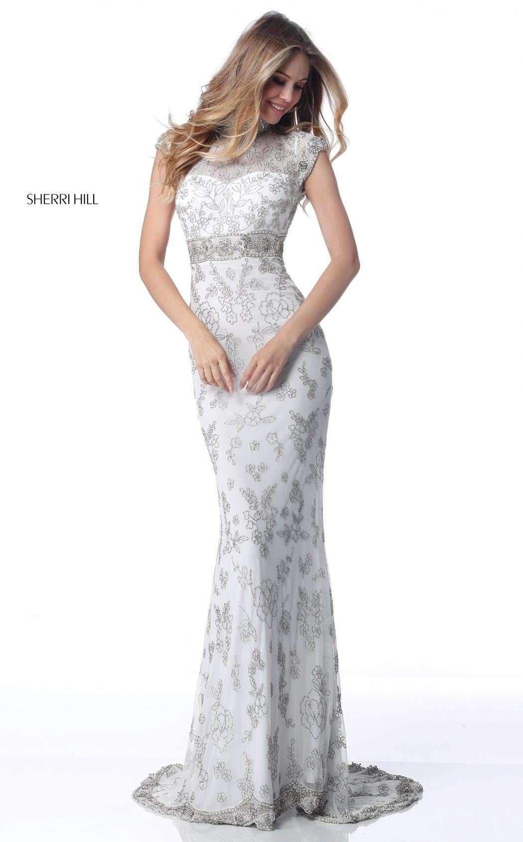 8cd1ea14177 Prom Dresses Under 300 Sherri Hill Tiered Sequin Gown Sherri Hill ...