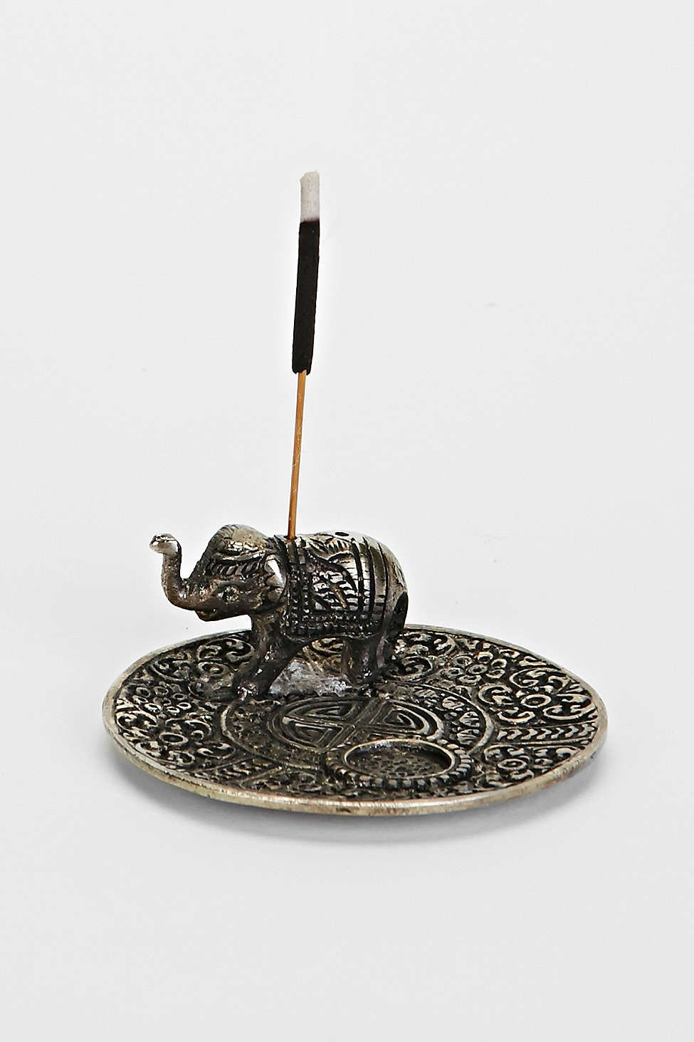 Metal Elephant Incense Holder - Urban Outfitters ($16)