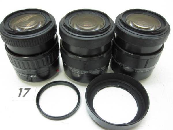 5L317GC TAMRON 28-70mm F3.5-4.5 レンズまとめて3本ジャンク_画像1