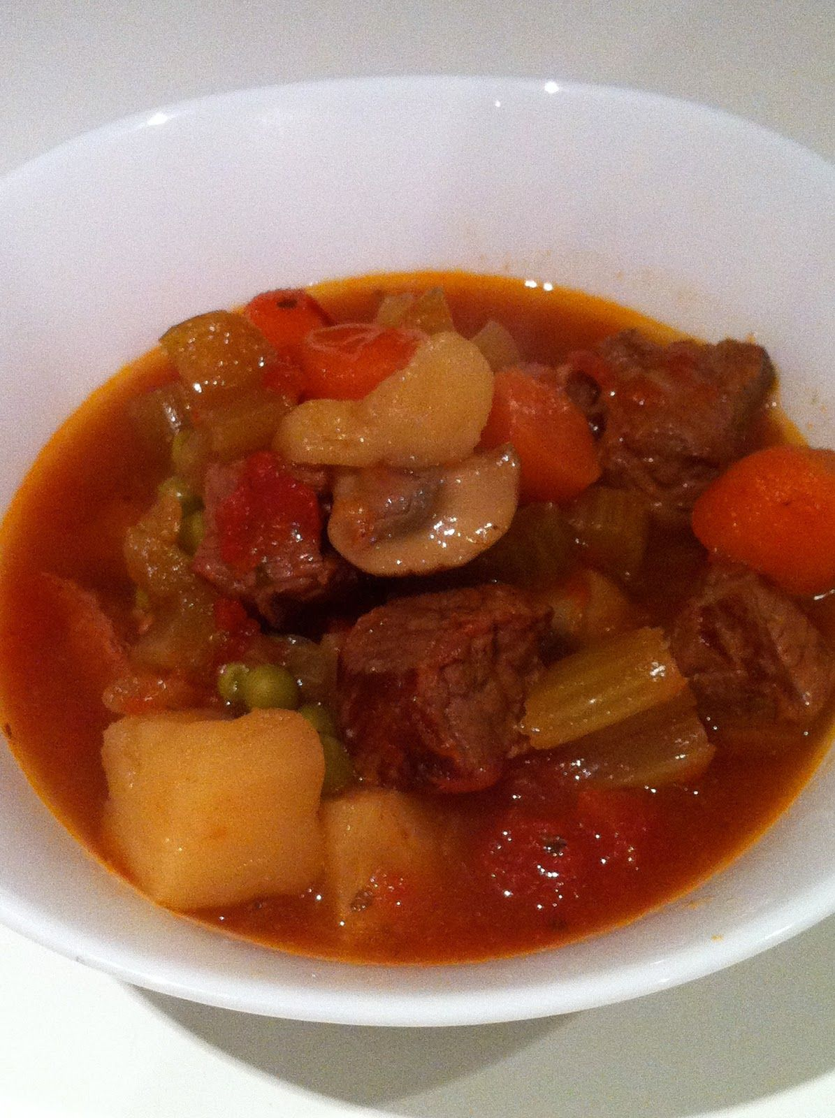 Chaos and the Kitchen: Beef and Vegetable Stew