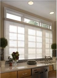 Horizontal Sheer Shades Blinds Kitchen Window Coverings Living Room Blinds Blinds For Large Windows