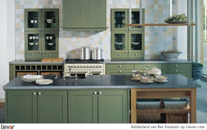 Gelderland bax keukens kasten keukenkasten keukenblokken kookeilanden keukens - Optimaliseren van een kleine keuken ...