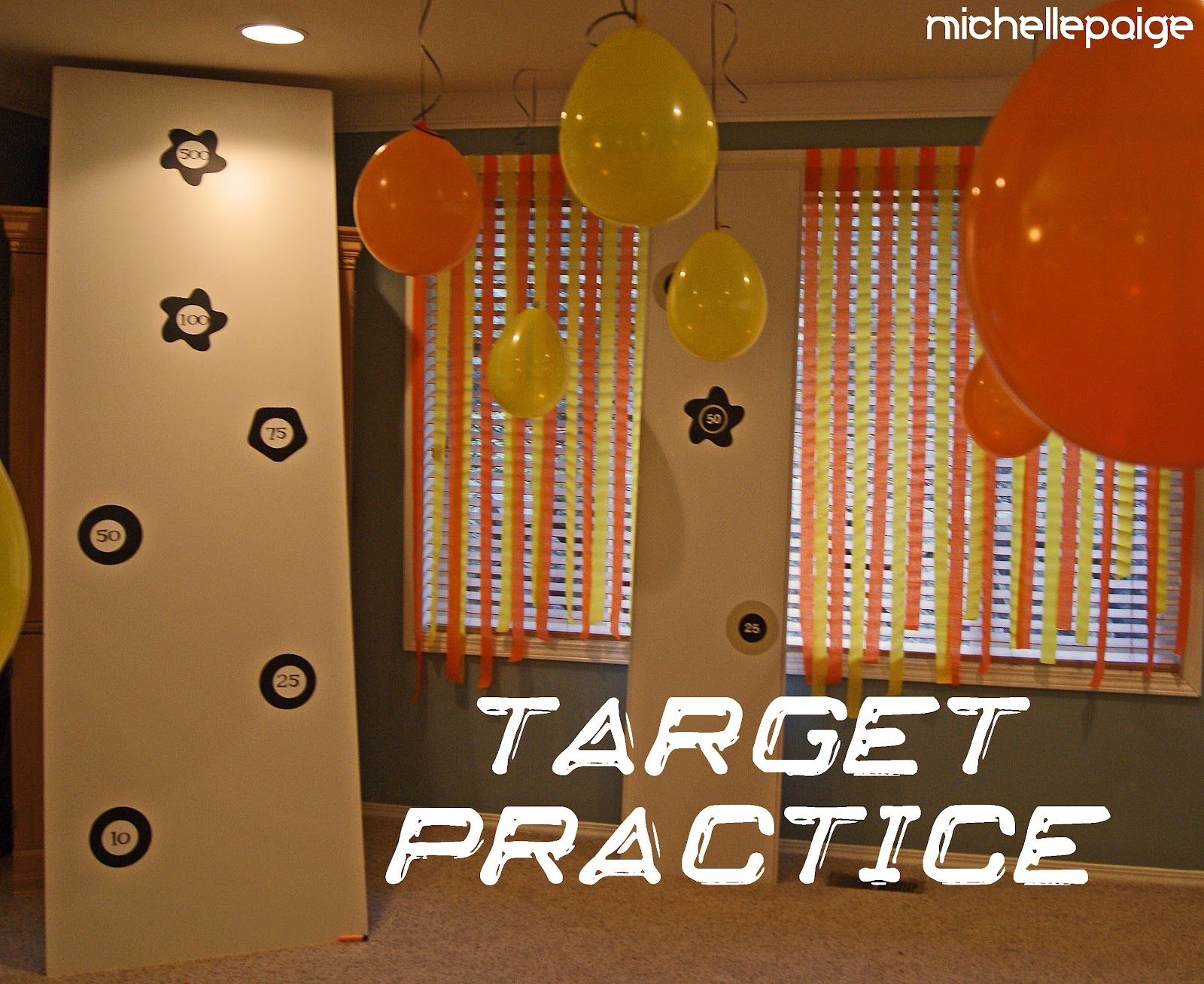 Nerf Gun Party! - found on a blog, cute ideas! - CafeMom Mobile