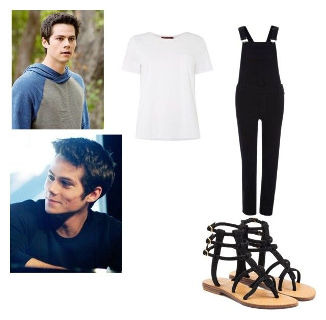 """""""Dylan o'brien"""" by killjoy-717 ❤ liked on Polyvore featuring MaxMara, River Island and Mystique"""