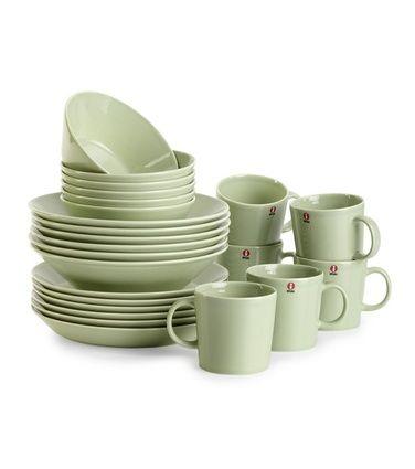 Teema-astiat, 24 osaa, celadonin vihreä