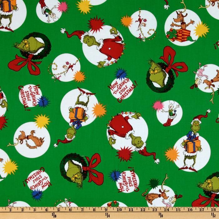 CHRISTMAS DOT ALLOVER FABRIC