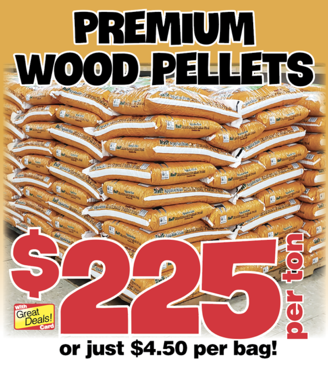 We Have Wood Pellets Sale Flyer Wood Pellets Pellet