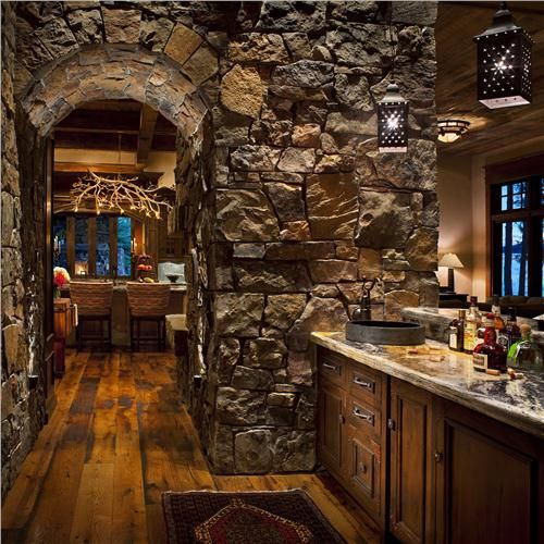 dark country rustic bar by jerry locati butler s pantry wet bars