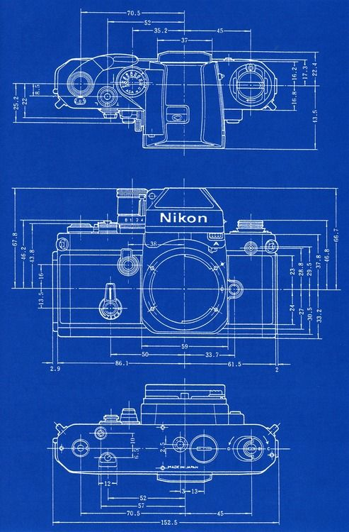Nikon f2 blueprint camera corner pinterest nikon cameras and nikon f2 blueprint malvernweather Choice Image