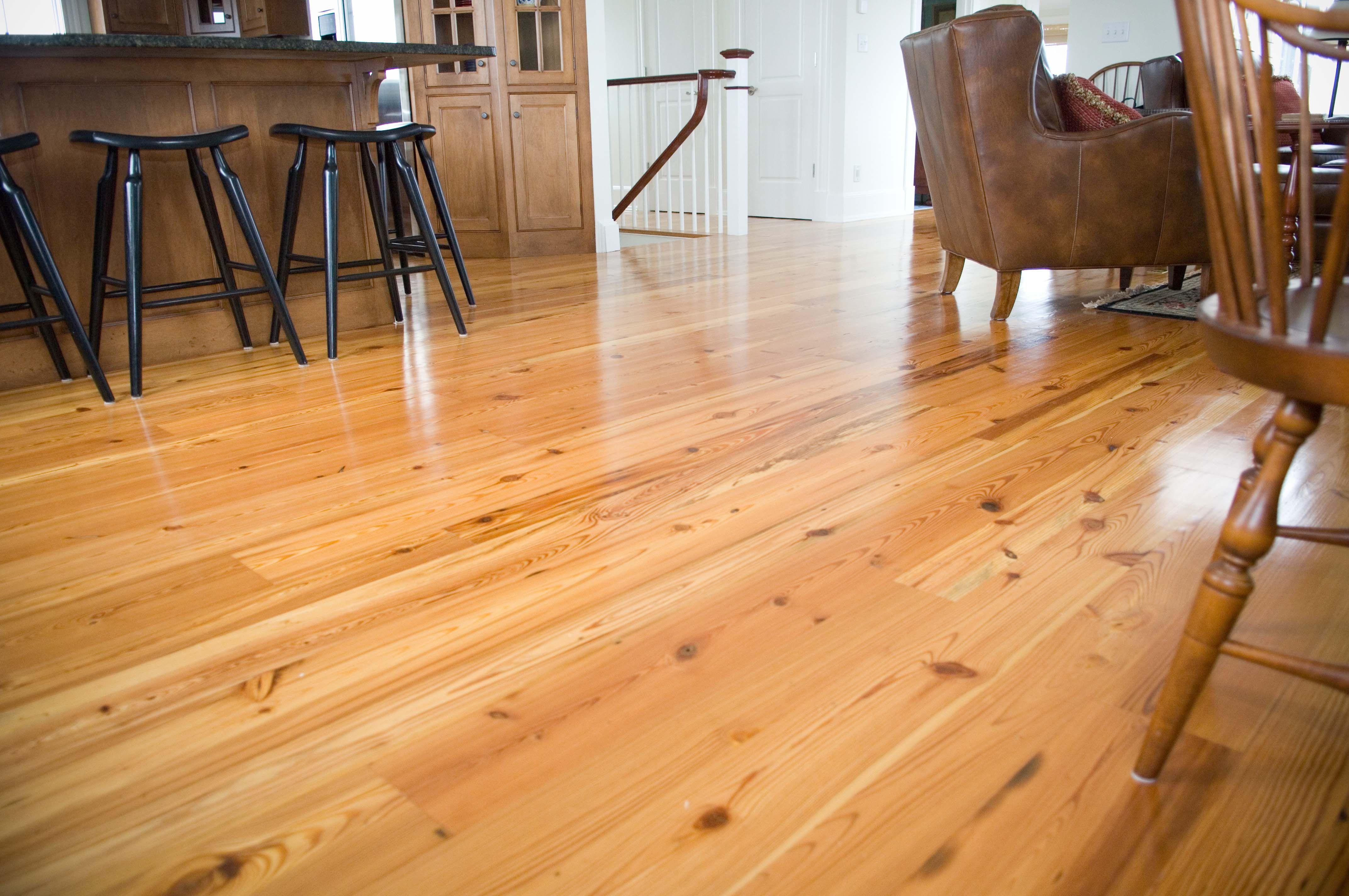 Pine Laminate Flooring natural values ii 256 summerville pine laminate flooring by shaw Longleaf Lumber Reclaimed 3 Rustic Heart Pine Flooring In A Home Hallway