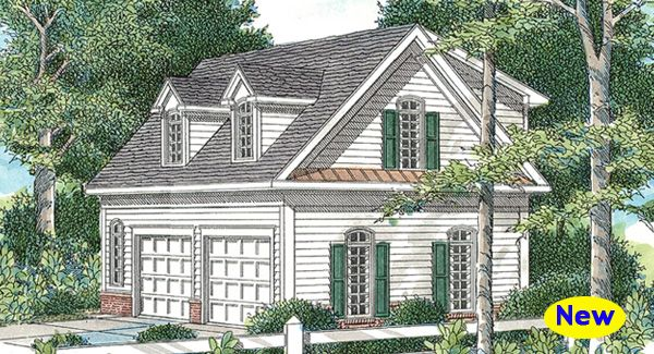 The Hanson Iii Is A Cape Cod Style Detached Garage That