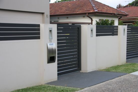 fence - Wall Fencing Designs