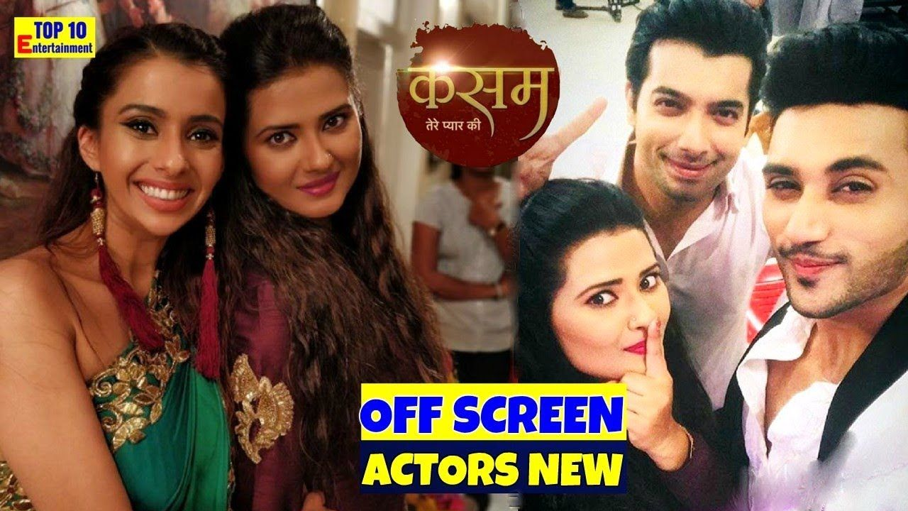 Kasam Tere Pyaar Ki Colors Serial Actors New Off Screen