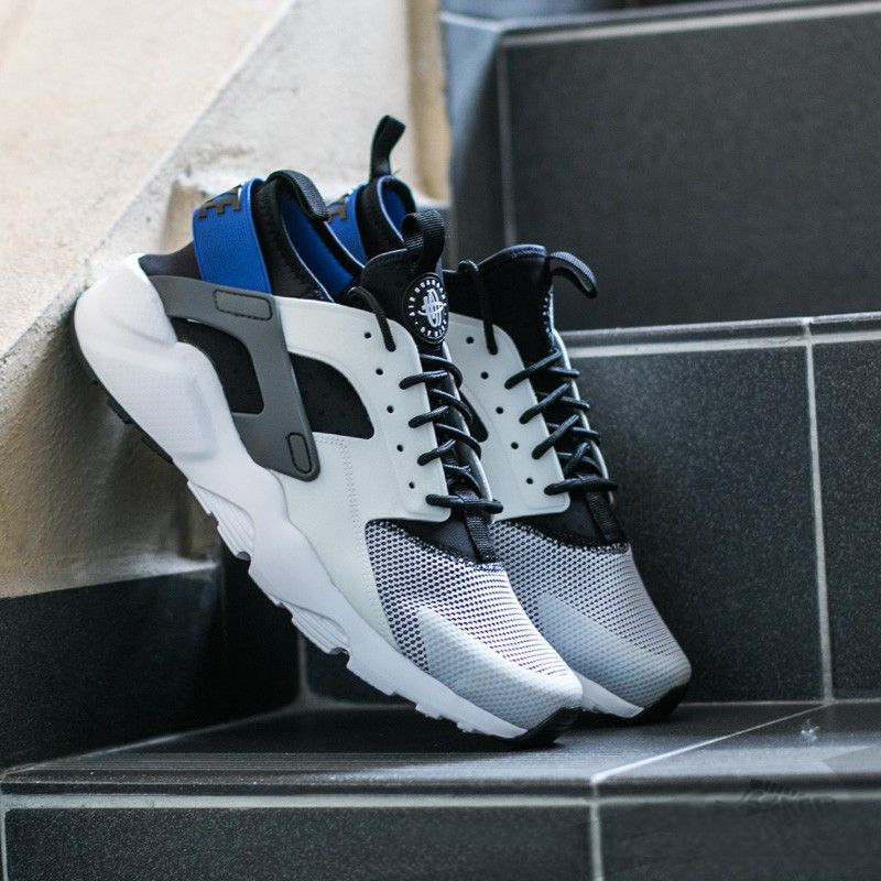 Nike Air Huarache Run Ultra White Racer Blue Black Trainer