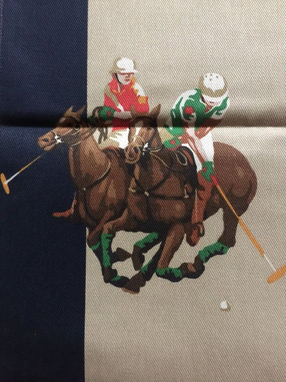 By Fabric Lauren Esquestrian English Horse Scene Country Ralph rdhQCst