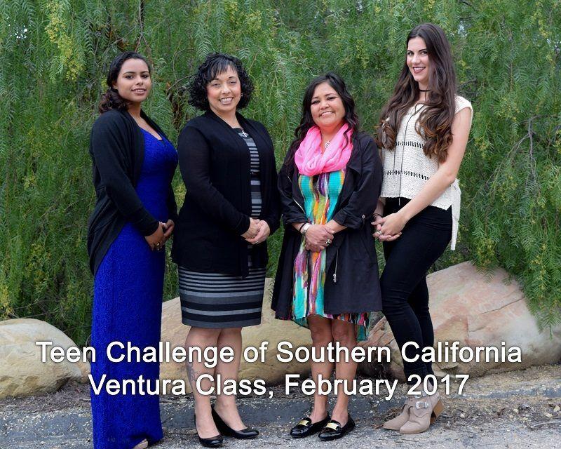 Teen Challenge of Southern California graduates, Ventura Class, February 2017.