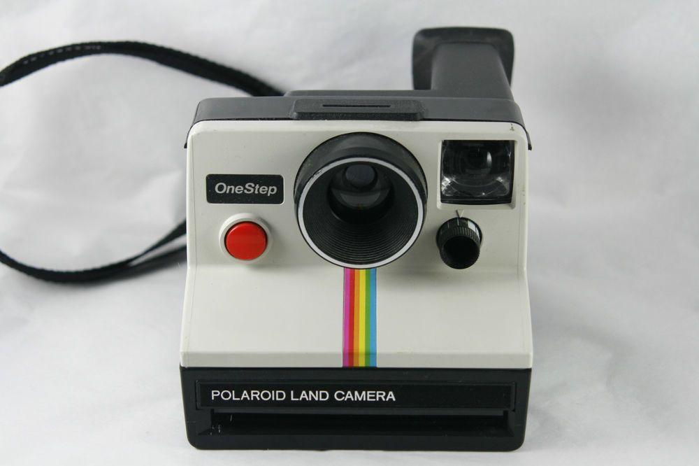 Polaroid Camera Urban Outfitters Uk : Polaroid one step sx land camera rainbow instant film vtg s