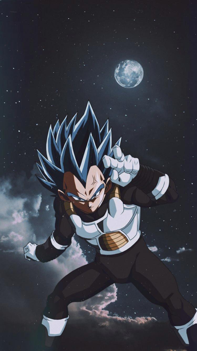 SSJ Blue Vegeta (With images) Dragon ball super manga