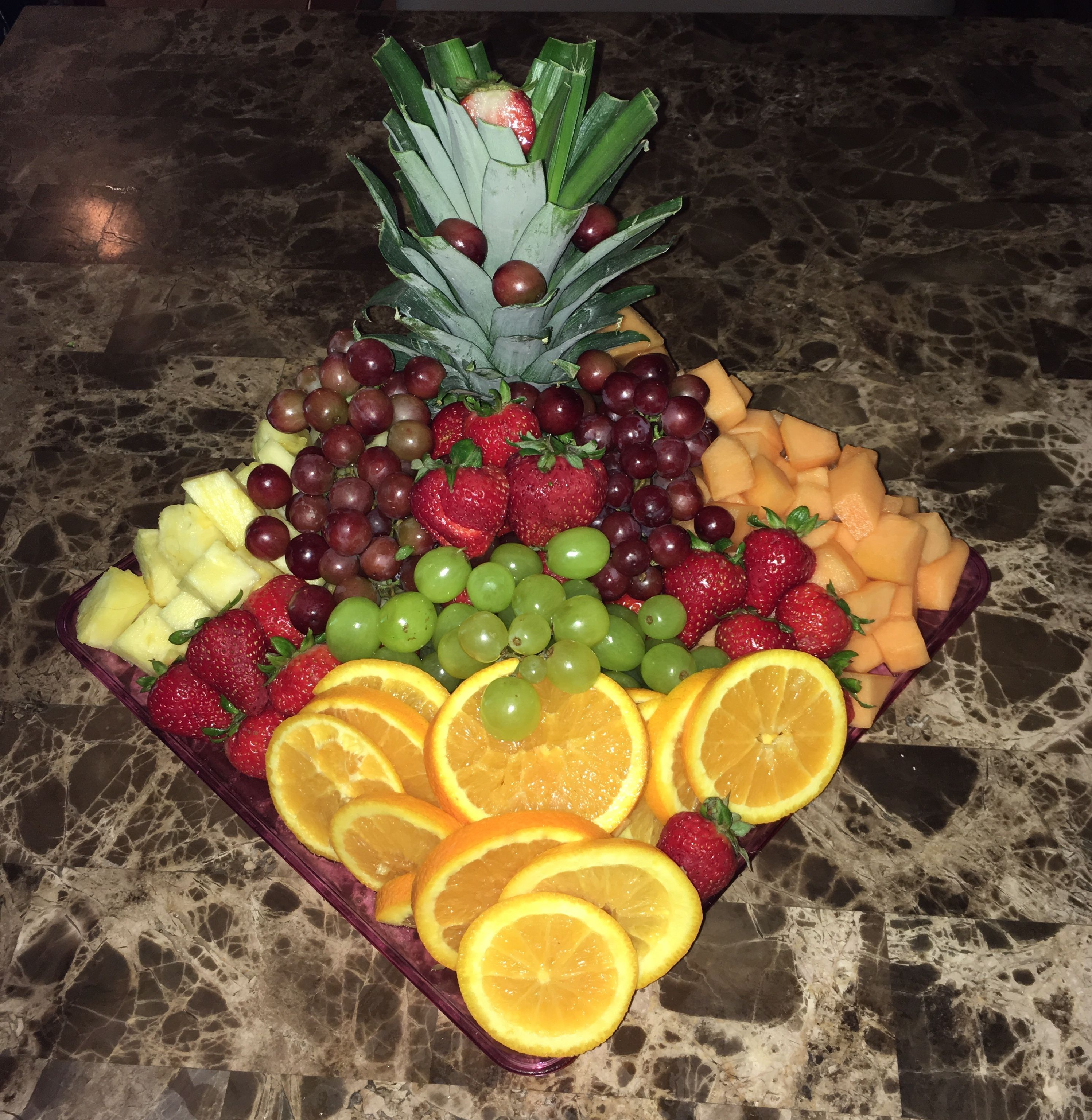 Assorted Fresh Fruit Platter, Arranged By Me (Minniepearl94)