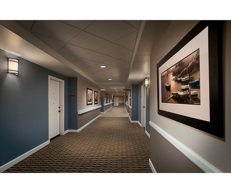 Home Design Ideas For The Elderly: Senior Living Corridor Design - Google Search