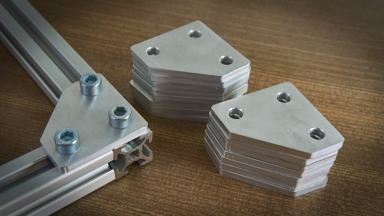 Cutting Aluminum on a Mostly Printed CNC (MPCNC) | CNC in