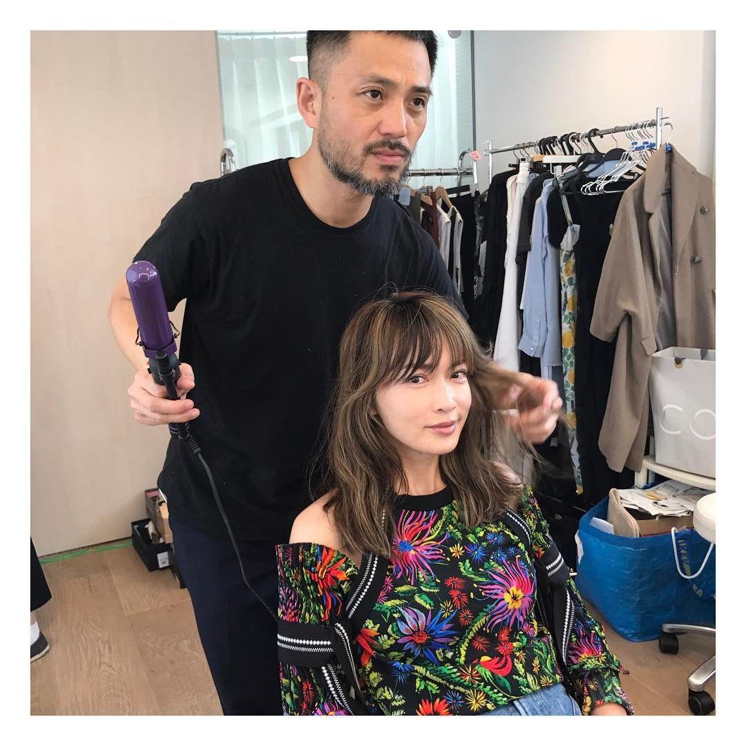 長谷川京子 on Instagram \u201cshootingイケメンヘアー