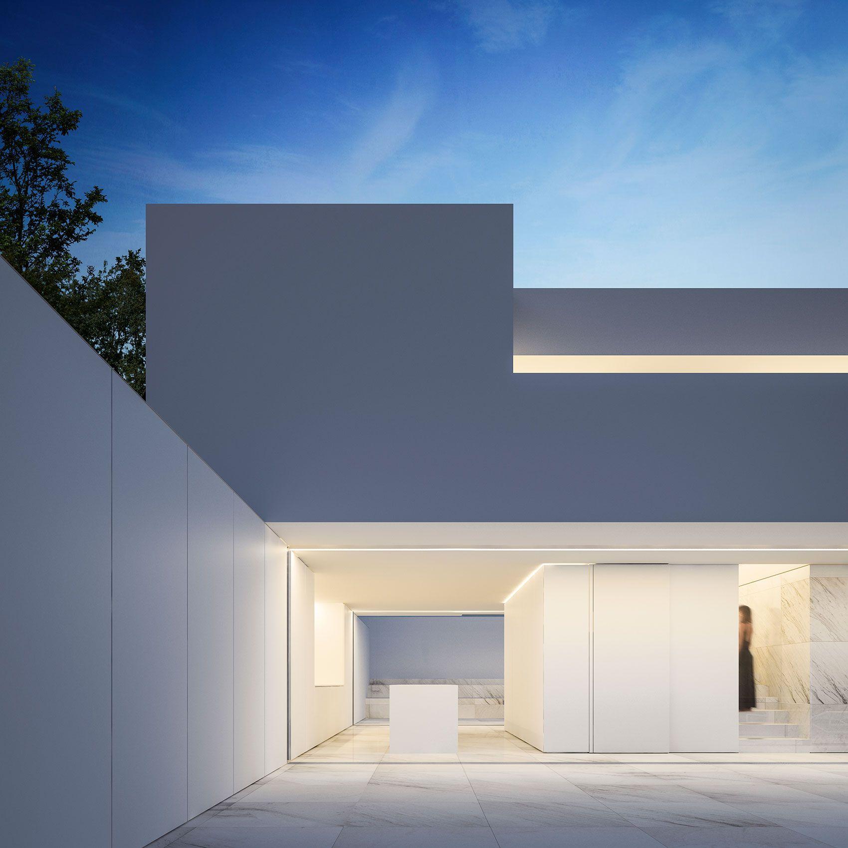 Casa en el horizonte arquitectos valencia fran - Fran silvestre arquitectos ...