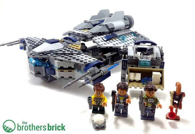 LEGO Star Wars 75147 StarScavenger [Review] | LEGO set reviews ...