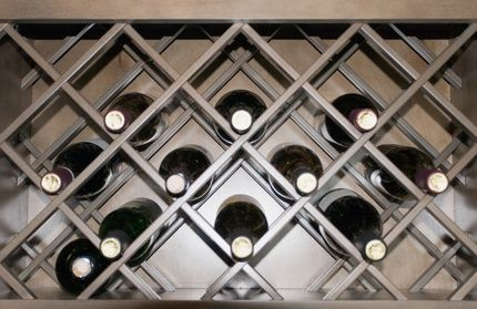 How To Make A Diamond Wooden Wine Rack With Images