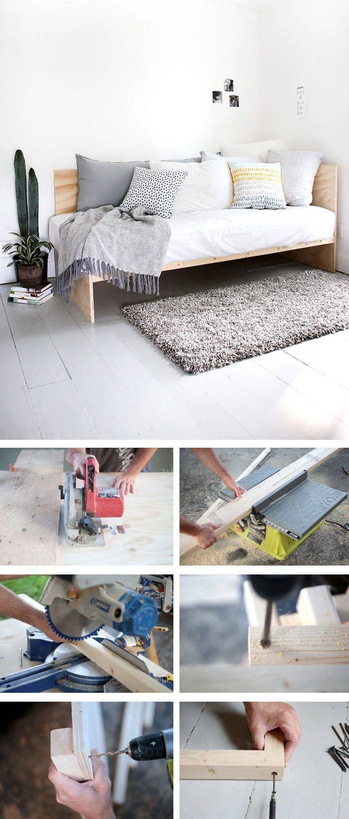 Bett selber bauen:12 einmalige DIY Bett und Bettrahmen Ideen ...