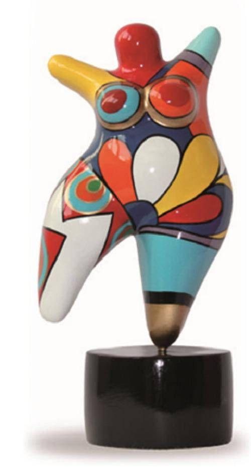 Superbe Statuette Dans Le Style Des Nanas Niki De Saint Phalle Qui Comblera Les Collectio Niki De Saint Phalle Pots De Fleurs En Mosaique Peinture Multicolore
