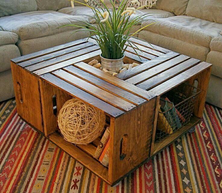 Table salon bois