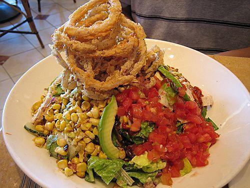 Cheesecake Factory Restaurant Copycat Recipes: BBQ Ranch Chicken Salad #cheesecakefactoryrecipes
