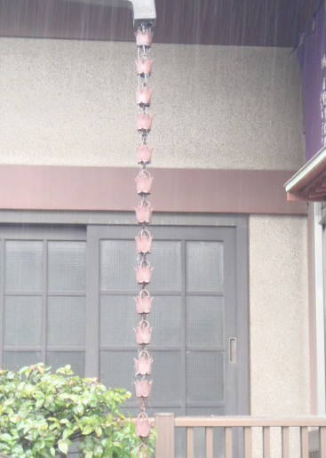 A Gutter Accessory That Has Become Popular Recently Are Rain Chains These Can Be Added To Most Gutters For A Gutter Accessories Gutter How To Install Gutters