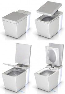 Kohler Numi Toilet Auto Open Close Heated Seat Foot Warmer