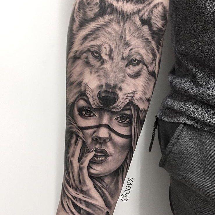 Mulpix Tattoo Done By Artist At Eevz Blackandgrey Inksav