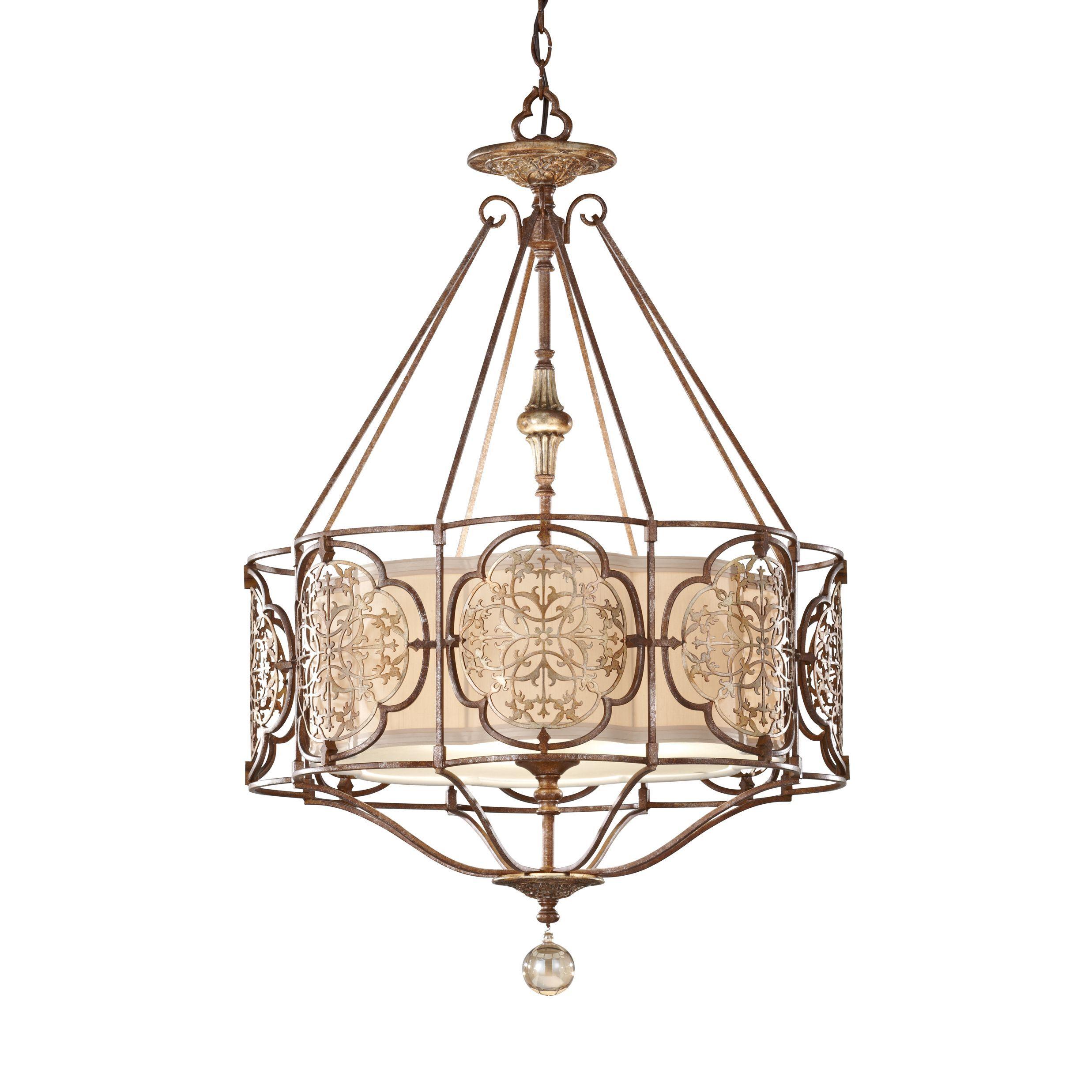 Feiss Marcella 3 Light British Bronze Oxidized Home Decor
